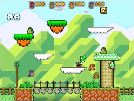 Super Mario War screenshot